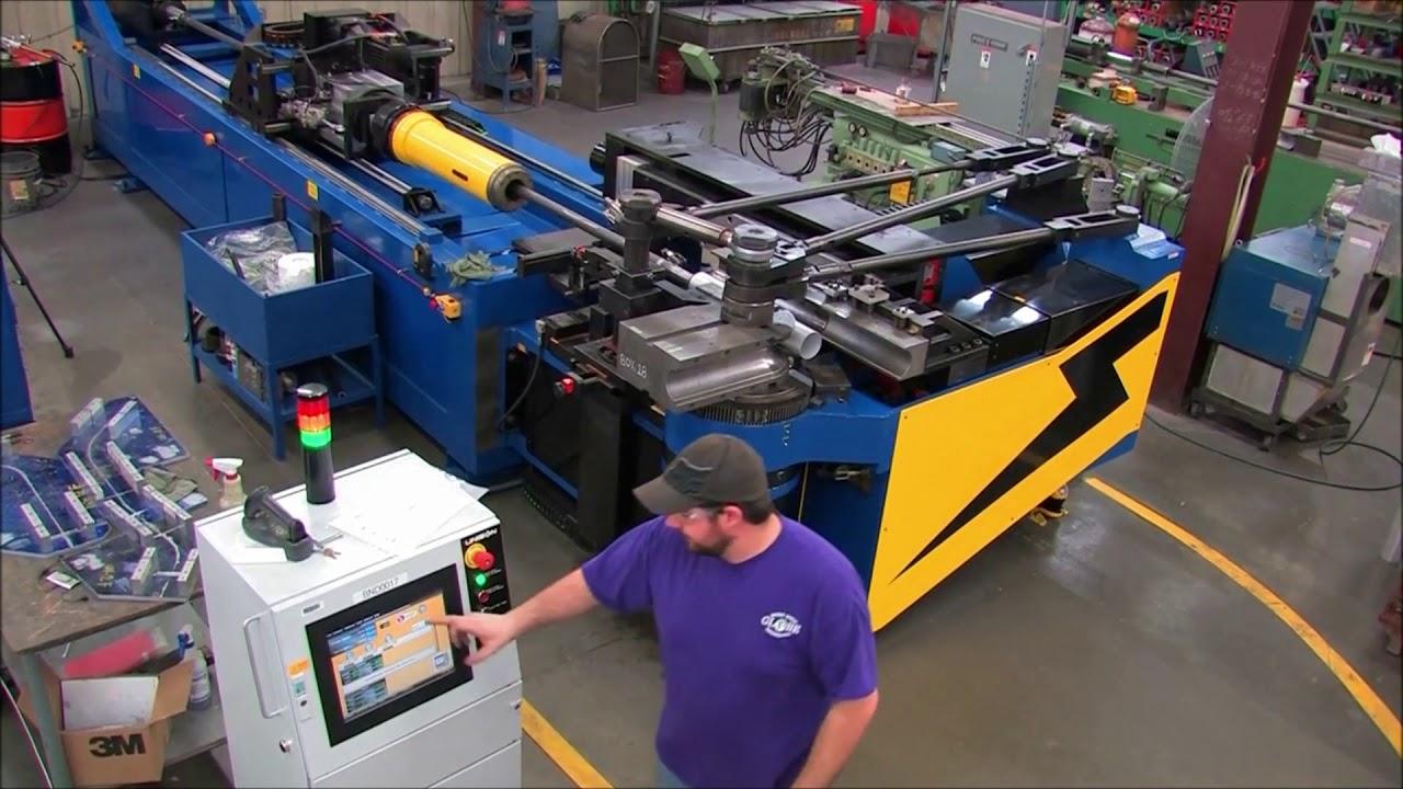 Globe Engineering installs 4th tube bender | Unison Ltd