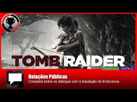 Tomb Raider 2013 - Relações públicas / Chatterbox