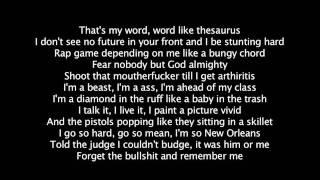 Lil Wayne - Megaman (Lyrics)