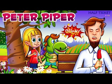 Peter Piper Song | Tongue Twisters for Kids | Nursery Rhymes For Kids