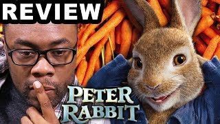 PETER RABBIT Movie Review + Peter's Following Me?? (Black Nerd)