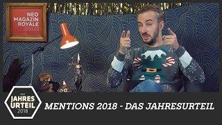 Mentions 2018 - Das Jahresurteil | NEO MAGAZIN ROYALE mit Jan Böhmermann - ZDFneo