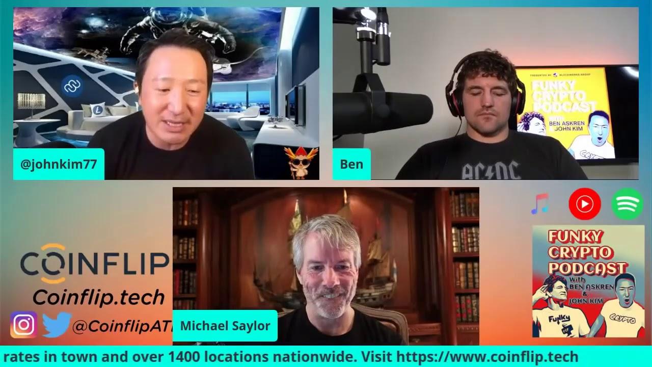 Michael Saylor Responds to John Kim's Question About #Litecoin