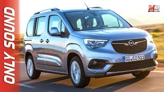 New opel combo life 2018 - first test drive only sound