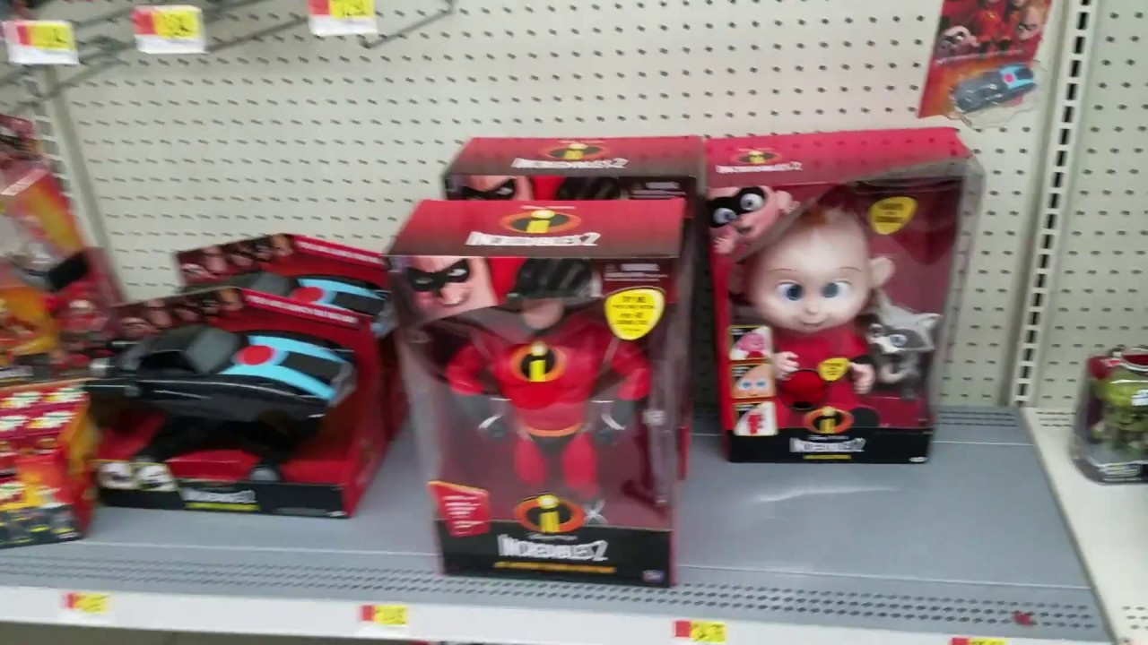 Incredibles 2 Toys At Walmart Youtube