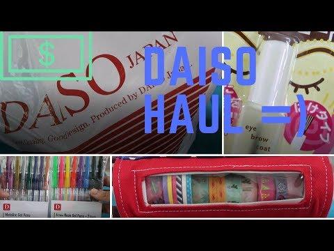 DAISO HAUL in SINGAPORE | Jachinoy15