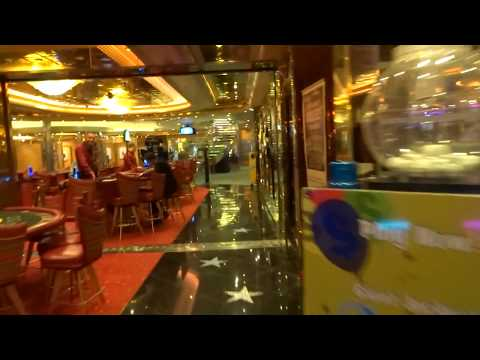 Royal Caribbean - Freedom of the Seas - Casino Walk - Gulf of Naples