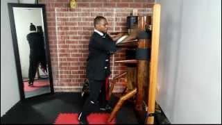 provisional Master Rahsun Wooden Dummy Variation #1