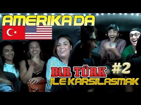 2 Türk Amerika'da Karşılaşırsa - Amerika'da UBER