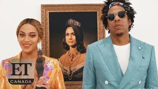 The Carters Show Off Meghan Markle Painting