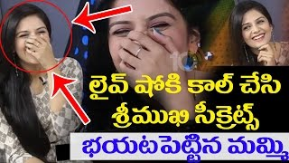 Anchor Srimukhi's Mother Reveals Srimukhi Secrets In Live Show | Srimukhi Exclusive Interview | 10TV