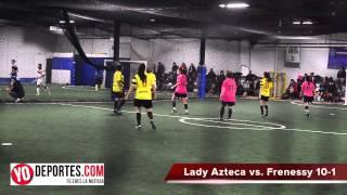 Lady Azteca vs  Frenessy 10-1 Jornada 17 Liga de los Lunes