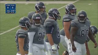Hornet Football - Fullerton vs Cerritos College
