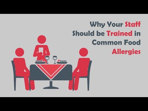 Why Your Staff Should be Trained in Common Food Allergies | Learn 2 Serve