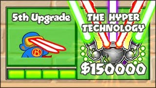 5TH TIER UPGRADES MOD - THE HYPER TECHNOLOGY MONKEY | Bloons TD Battles Hack/Mod (BTD Battles)