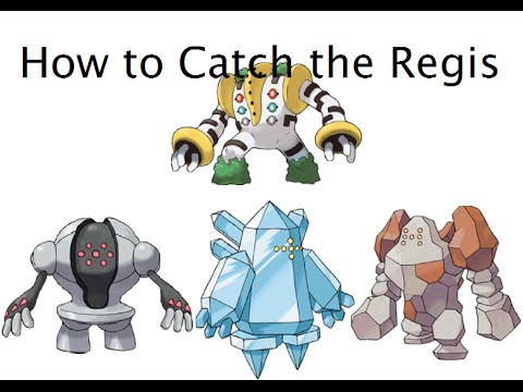 How To Get All The Regis In Pokemon Omega Ruby And Alpha