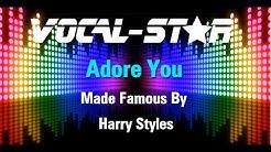 Harry Styles - Adore You (Karaoke Version) with Lyrics HD Vocal-Star Karaoke