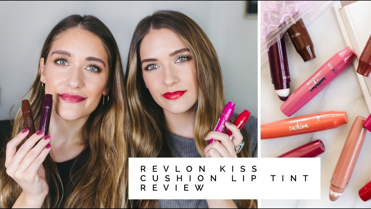 Revlon Kiss Cushion Lip Tint Review Swatches