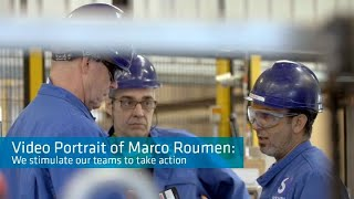 Video Portrait of Solvay employee Marco Roonem: We stimulate our teams to take action