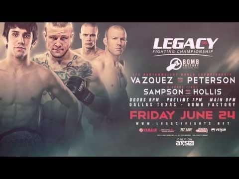 Legacy 56: Vazquez vs Peterson