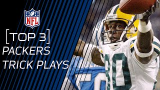 Top 3 Packers Trick Plays | #TrickPlayThursdays | NFL