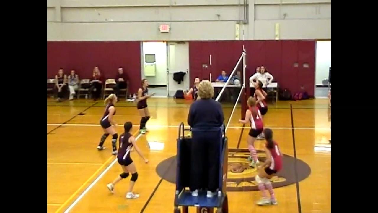 NCCS - Saranac Lake Volleyball  12-7-09