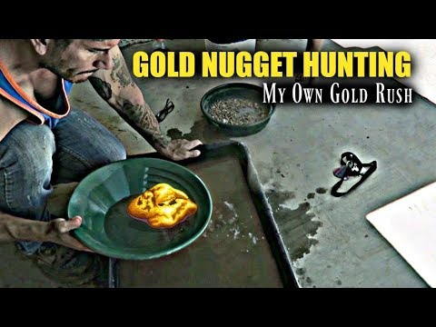 Gold Placer Mining Southern California Desert | My Own Gold Rush | What Did We Find??