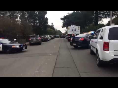 Police standoff in Santa Rosa, Part 1
