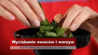 MPM   Wyciskarka wolnoobrotowa do soków, Slow Juicer MSO 12M