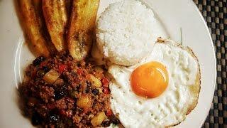 Arroz Ala Cubana / Luweeh's Kitchen