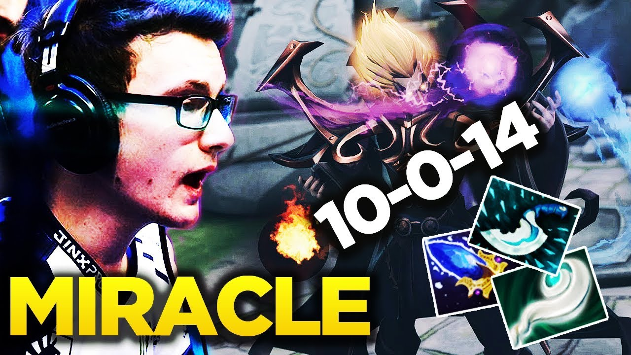 Miracle Invoker God  Pro Gameplay Ft S Meme Hammer Dota