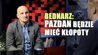 Bednarz: Pazdan nie zasłużył na powołanie