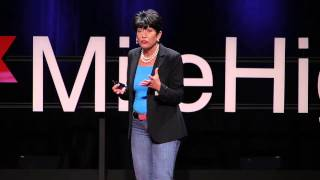 Shatter the ice -- designing a new world of gender equity | Lynn Gangone | TEDxMileHigh