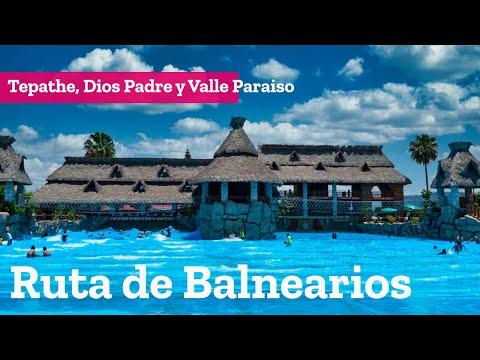 Ruta de Balnearios, El Tepathe , Valle Paraiso y Dios Padre en Ixmiquilpan Hidalgo