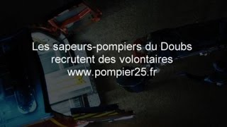 Promotion du volontariat sapeurs-pompiers du Doubs - Film national