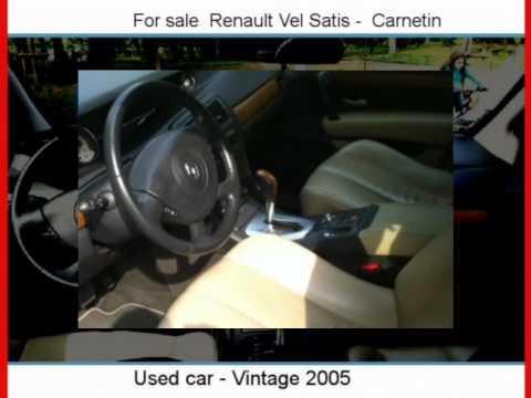 Sale one Renault Vel Satis  Carnetin