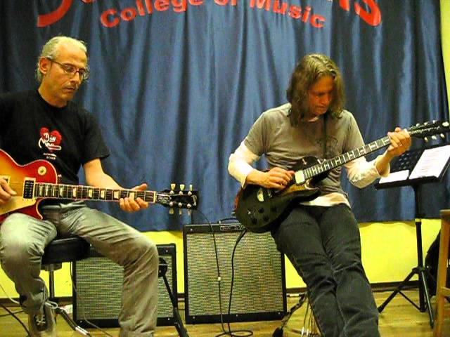 Robben Ford & Lello Panico @ S.Louis Music College