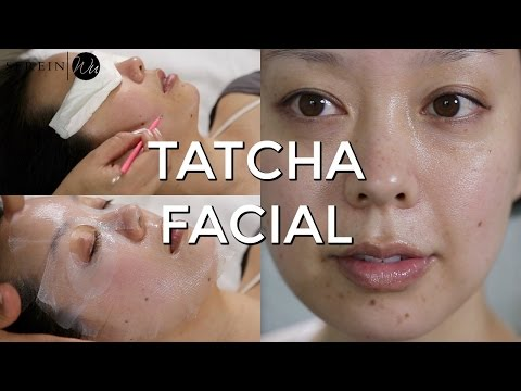 AT HOME FACIAL TREATMENT with TATCHA