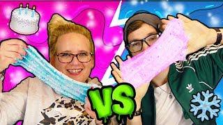 Evas SLIME HAUL | NEUE Schleim Deko | Wer macht den Schönsten Slime | EVA vs Felix