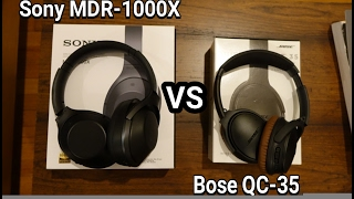 bose qc35 vs sony mdr 1000x 3 month review