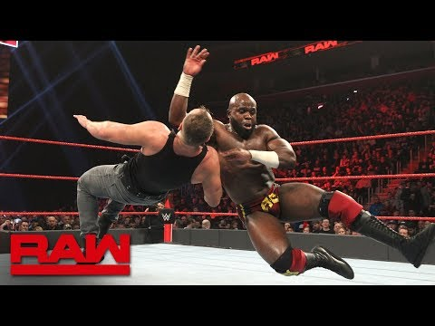 Dean Ambrose vs. Apollo Crews - Intercontinental Championship Match: Raw, Dec. 31, 2018