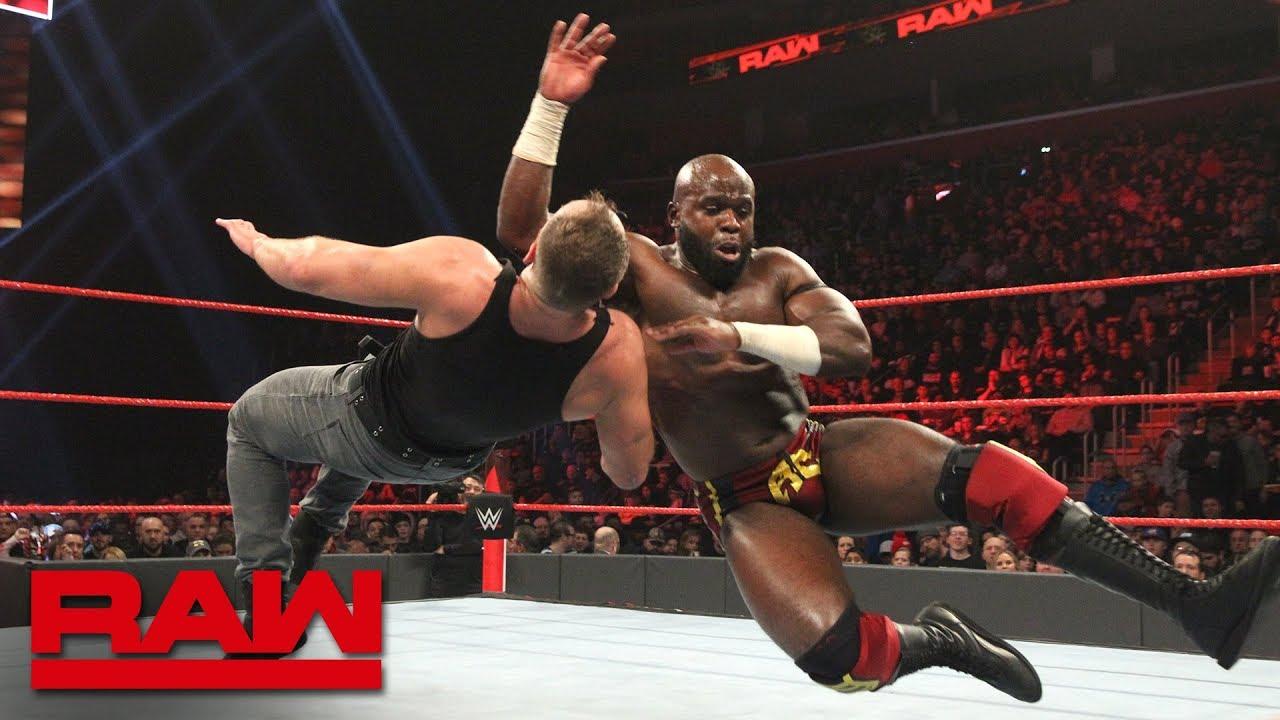 Dean Ambrose vs. Apollo Crews - Intercontinental Championship Match: Raw, Dec. 31, 2018