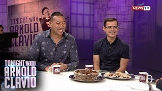 Tonight with Arnold Clavio: Mayor Isko Moreno at Mayor Francis Zamora, nakisaya kasama si Igan!
