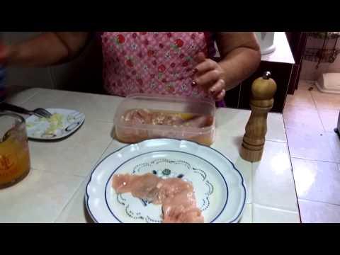 Filete de pollo a la naranja