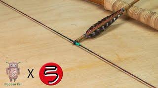 bow string making | 弓弦製作 | 製弓 #049