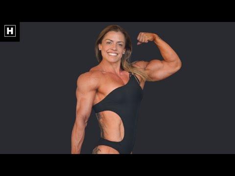 Massive Female Bodybuilder | Ivie Rhein