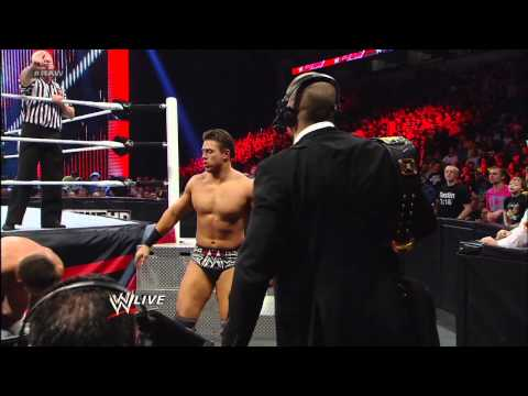 The Miz vs. Cody Rhodes: Raw, Feb. 11, 2013