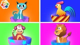 Vocabu-Larry-o con Huevos Sorpresa para Aprender Animales   BabyFirst Español