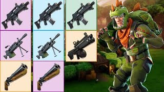 *NEW* Leaked Weapons and Airstrike Coming To Fortnite Battle Royale In Next Update