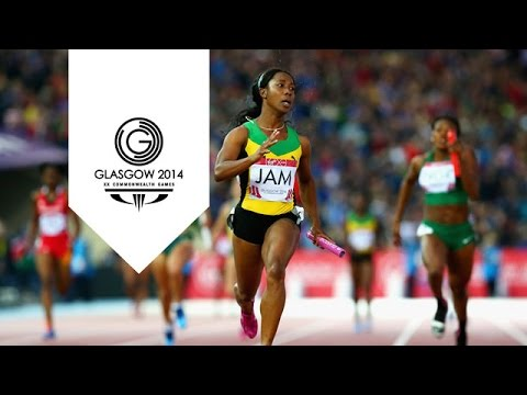 Jamaica smash women's 4x100m Commonwealth record ...